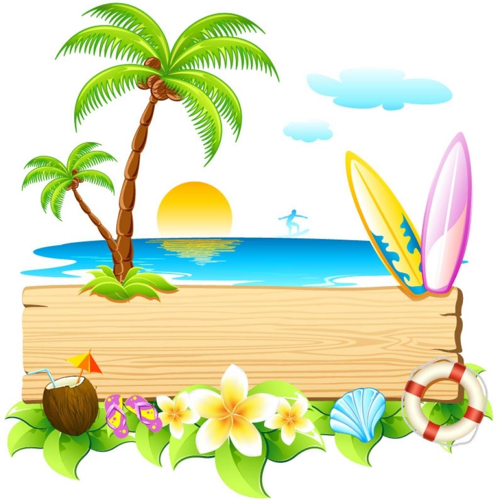 Summer clipart summer wallpaper #2