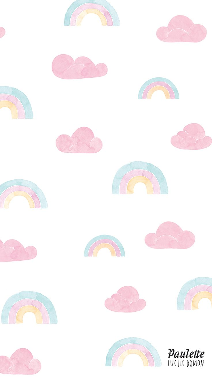 Pastel clipart wallpaper Wallpaper and on Rainbow pastel