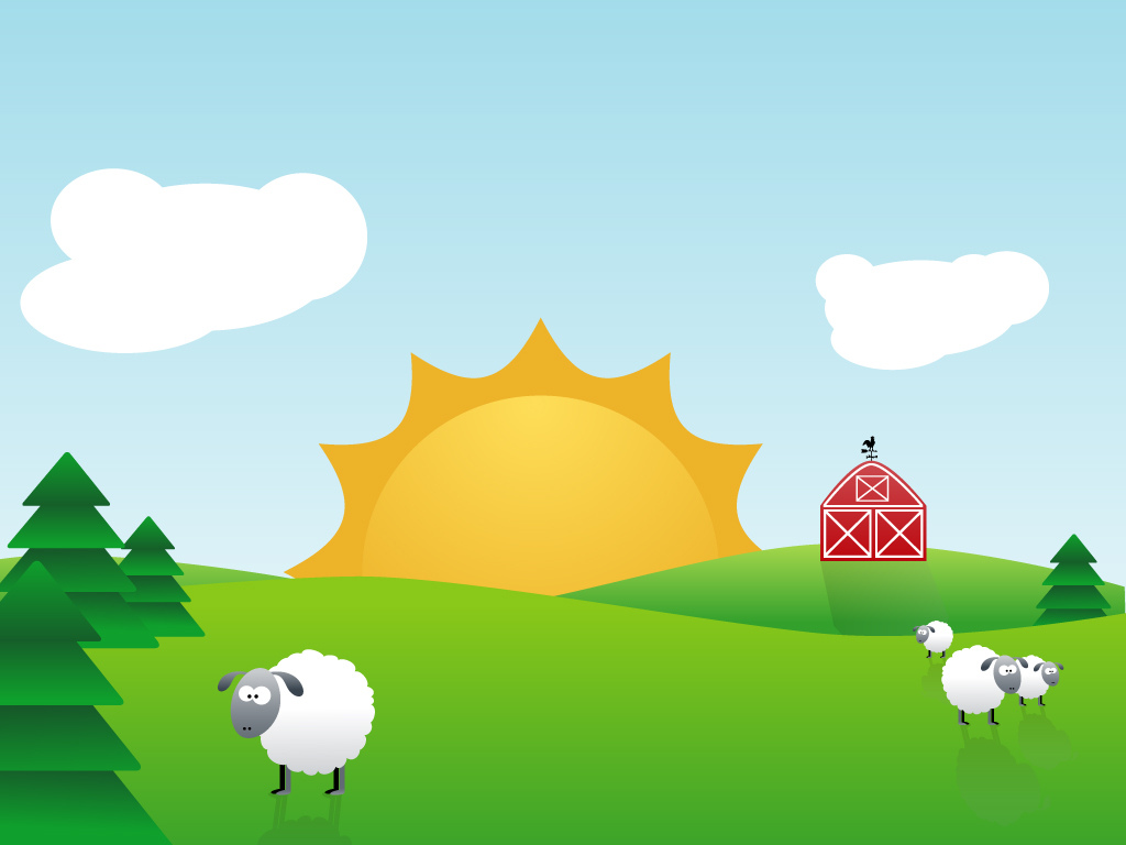 Cliparts Powerpoint Barnyard Backgrounds Clipart