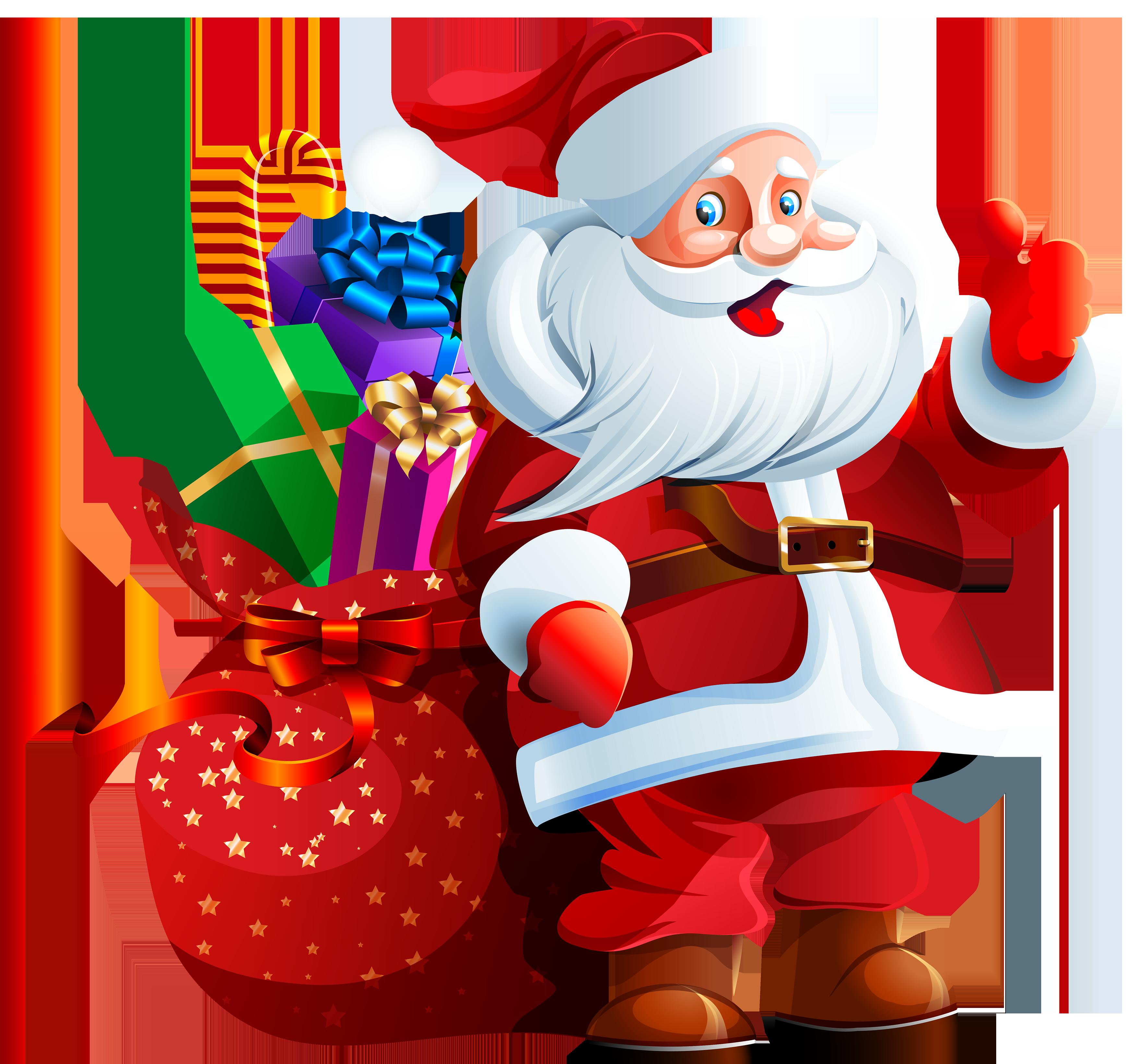 Santa clipart clous #3