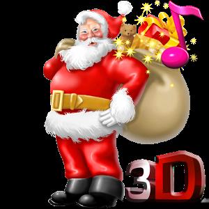 Wallpaper clipart santa claus 3D art Live Claus Apps