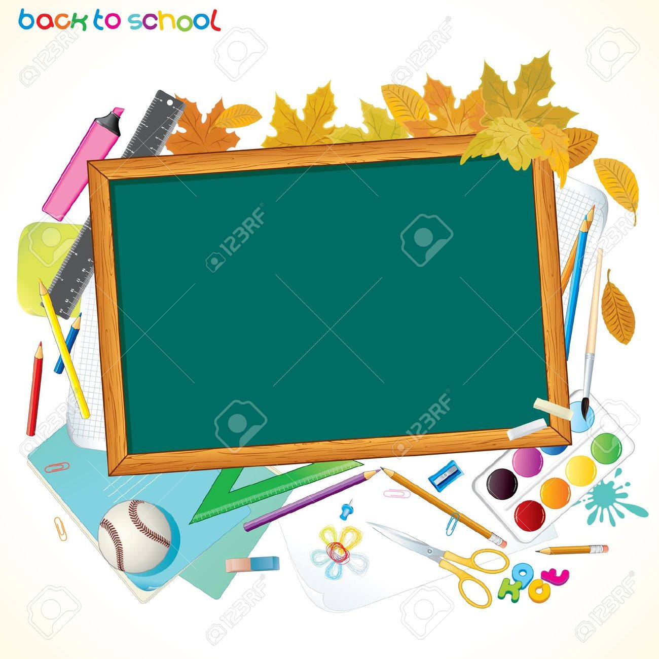Covered clipart school background School Back and With Cliparts