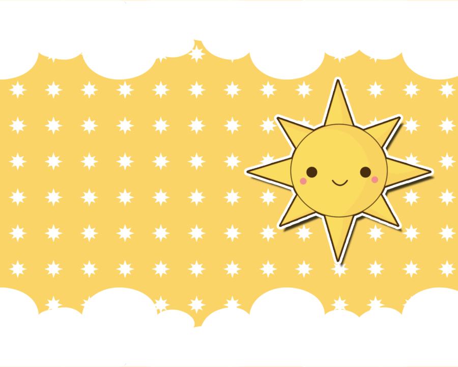 Wallpaper clipart sun By on TheHumanHeart Sun Kawaii