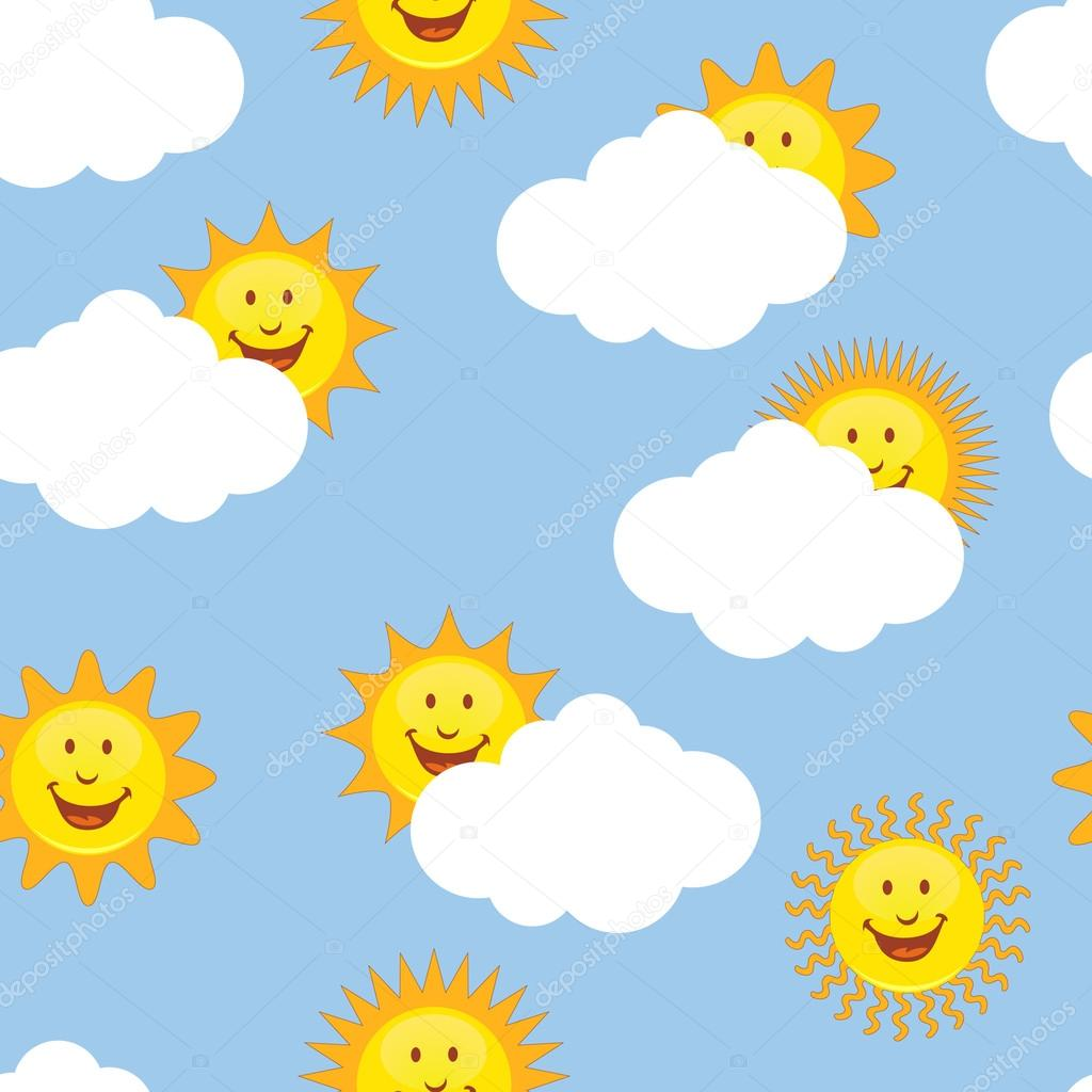 Wallpaper clipart sun Repeating Stock suns Vector cteconsulting