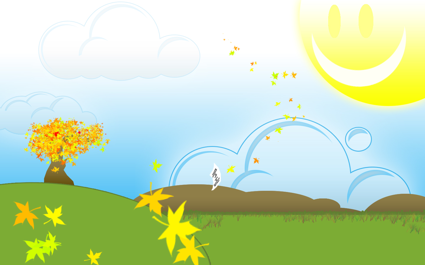 Cottage clipart bright sunny day Wallpaper WallpaperSafari Day Wallpaper Bright