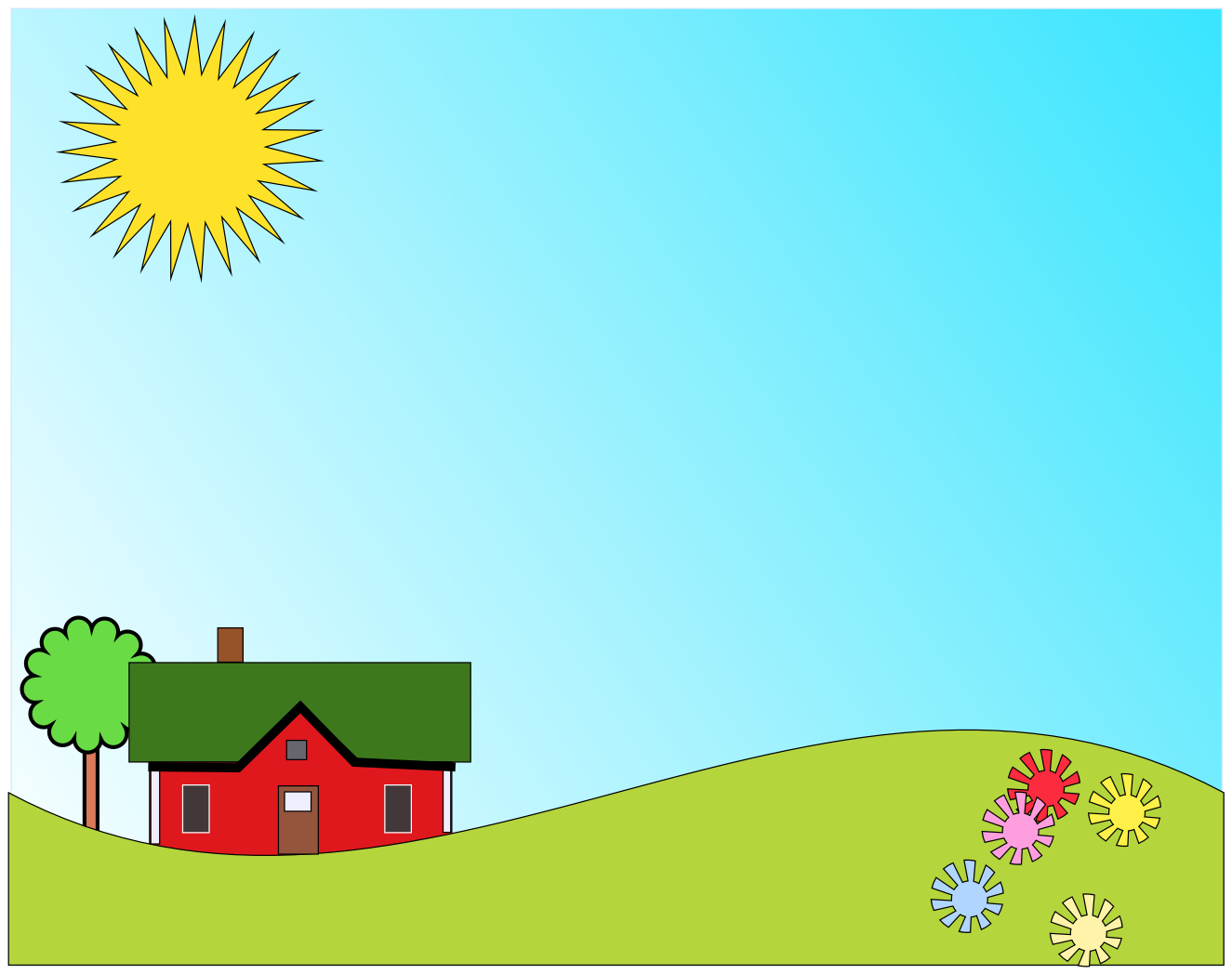 Beautiful clipart sunny day Clip Day of — Sunny