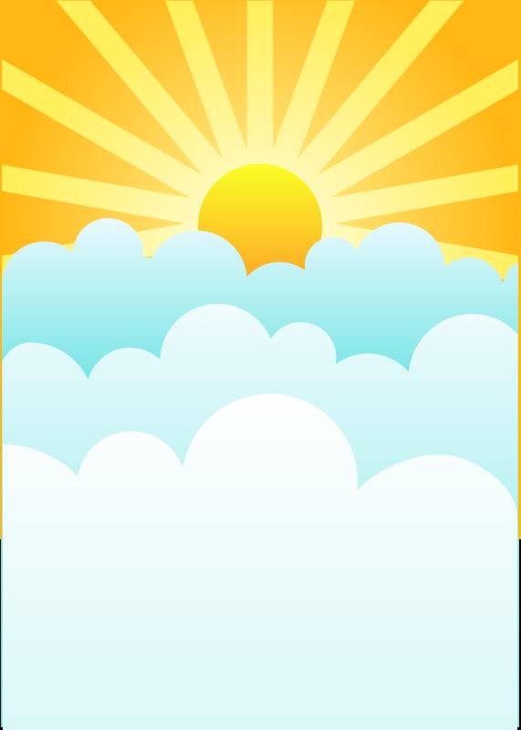 Yellow clipart sunrise Clipart #23247 com Best Sunrise