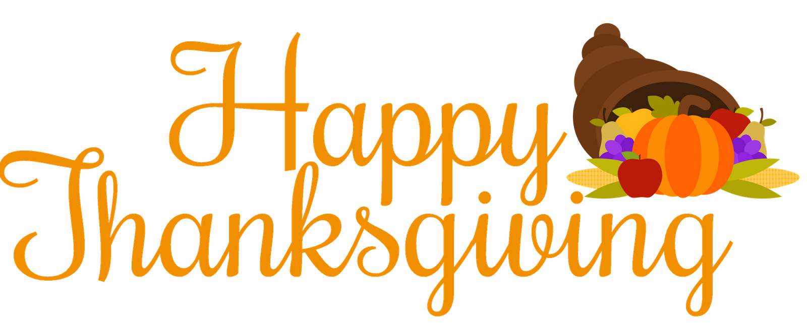 Word clipart happy thanksgiving Charlie Photos 2016 Thanksgiving Clipart
