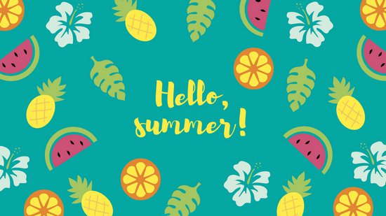 Wallpaper clipart tropical Wallpaper Tropical Tropical Summer Pattern