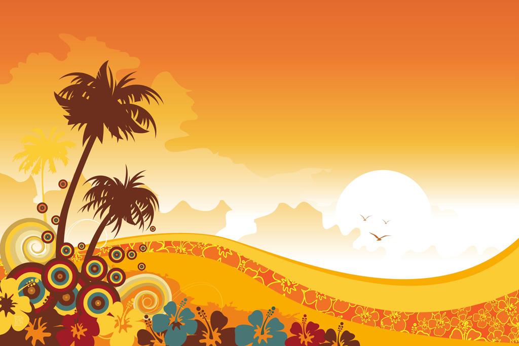 Wallpaper clipart tropical Clip Background Hawaiian Wallpaper WallpaperSafari