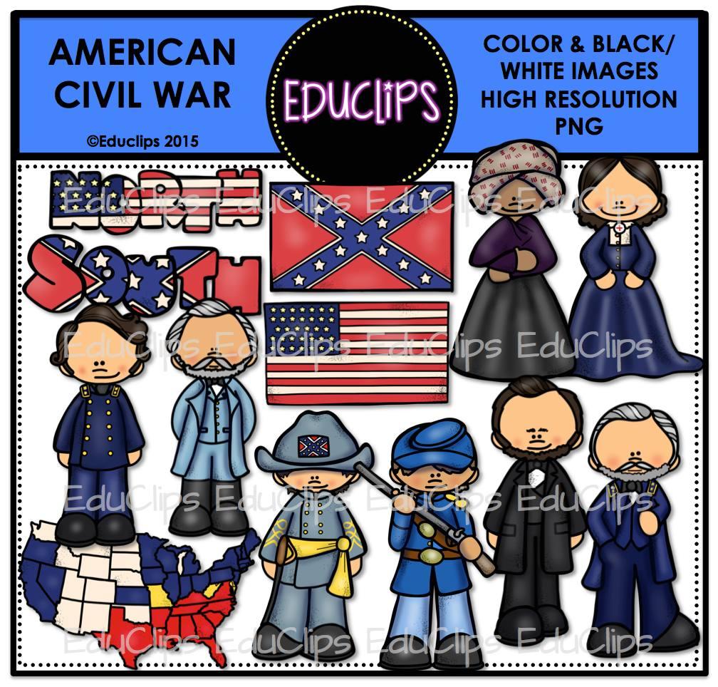 Civil War clipart usa  Add B&W) loading War