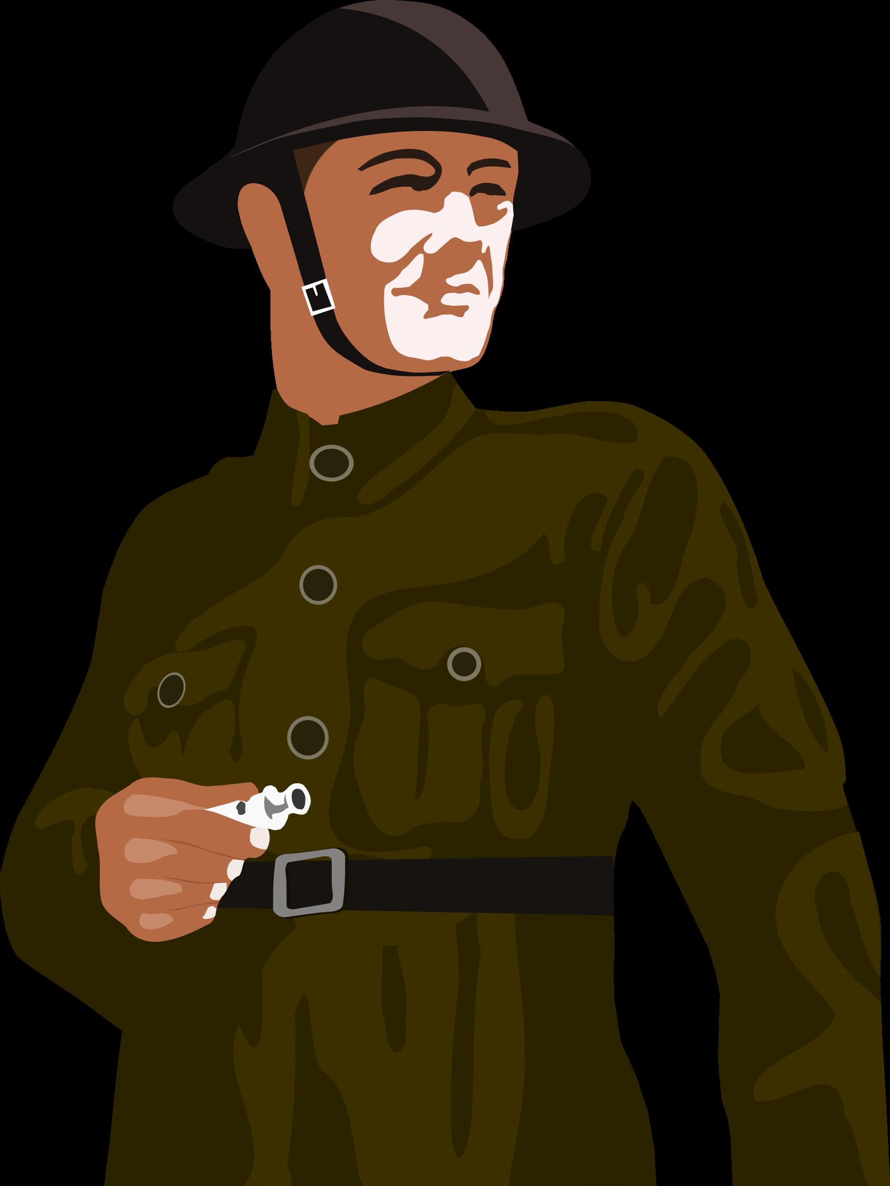 Army clipart british person #1
