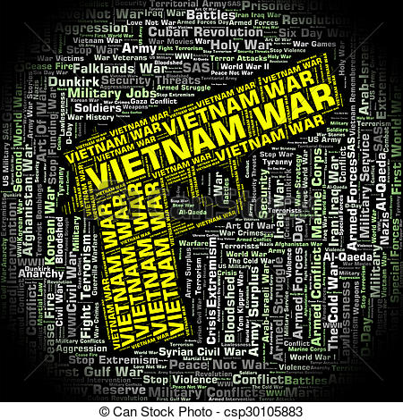 Vietnam clipart vietnam war Army North Illustration Vietnamese Stock
