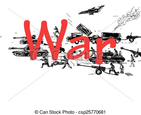 Word clipart war War Vector the tanks Pattern