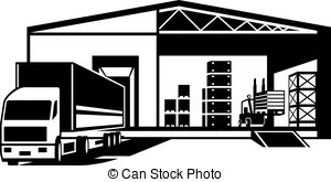 Warehouse clipart Images Truck clip Warehouse in