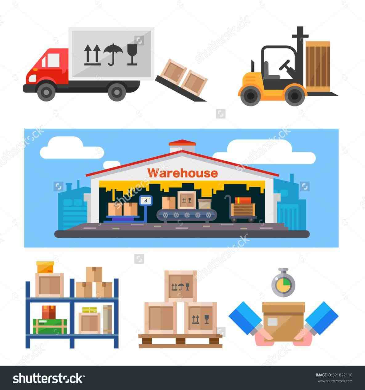 Warehouse clipart Factory › warehouse clipart online