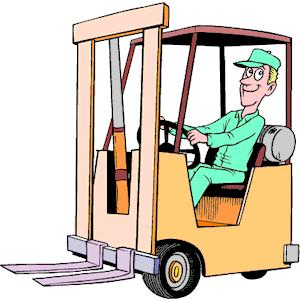 Warehouse clipart storekeeper Operator clipart forklift jpg