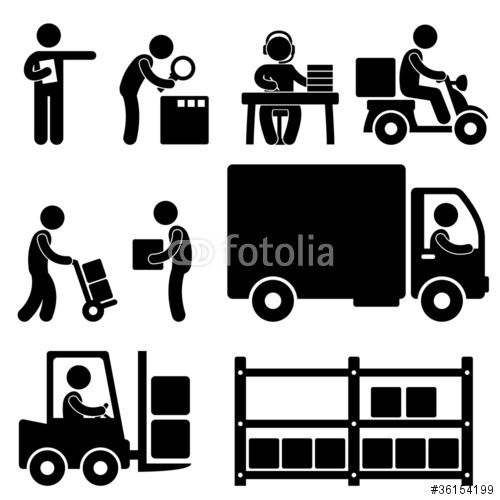 Warehouse clipart shipper 28 Logistic best on Pictogram