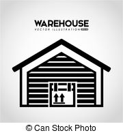 Warehouse clipart storage warehouse Of building warehouse  Art