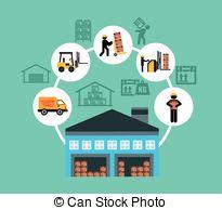 Warehouse clipart storage warehouse 8  illustration EPS 045