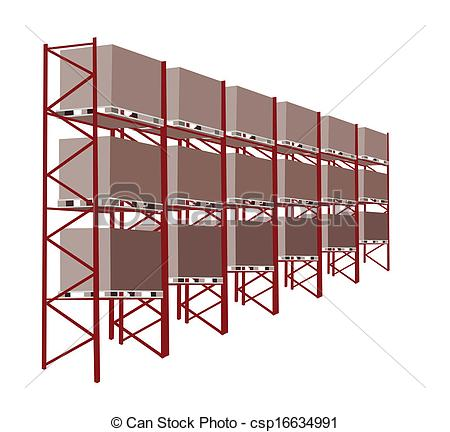 Warehouse clipart storage warehouse Manufacturing A A of Storage
