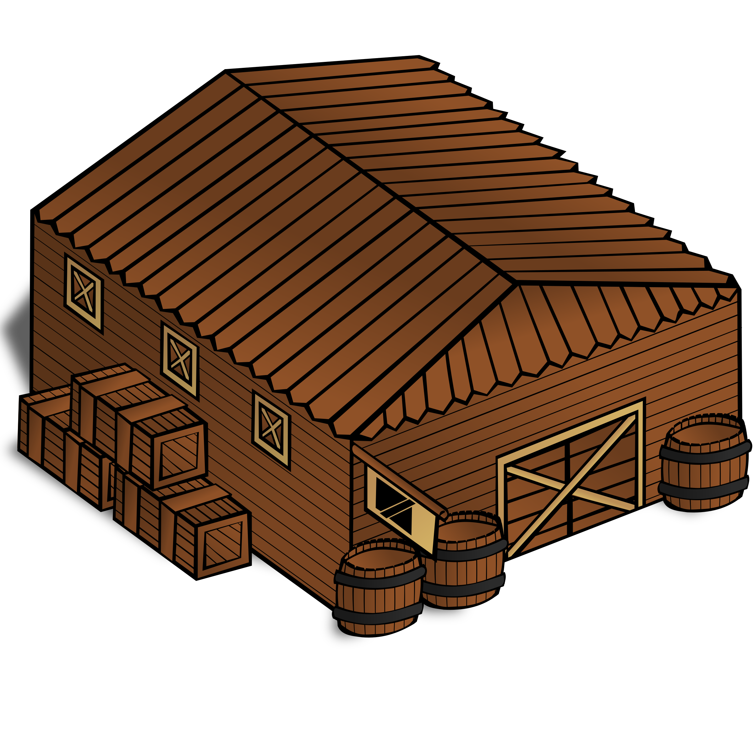 Warehouse clipart storage warehouse Clipart map Warehouse RPG symbols: