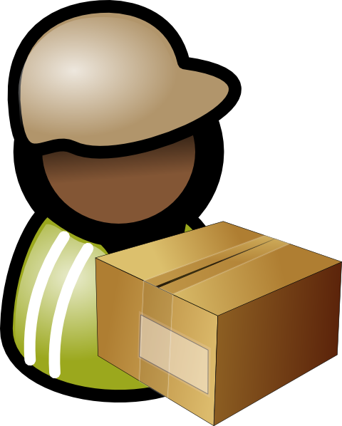 Warehouse clipart storekeeper Image as: com Clip vector
