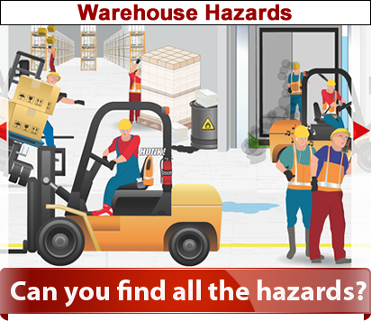 Warehouse clipart workplace safety TSCBC  Hazards Warehouse SafetyDriven