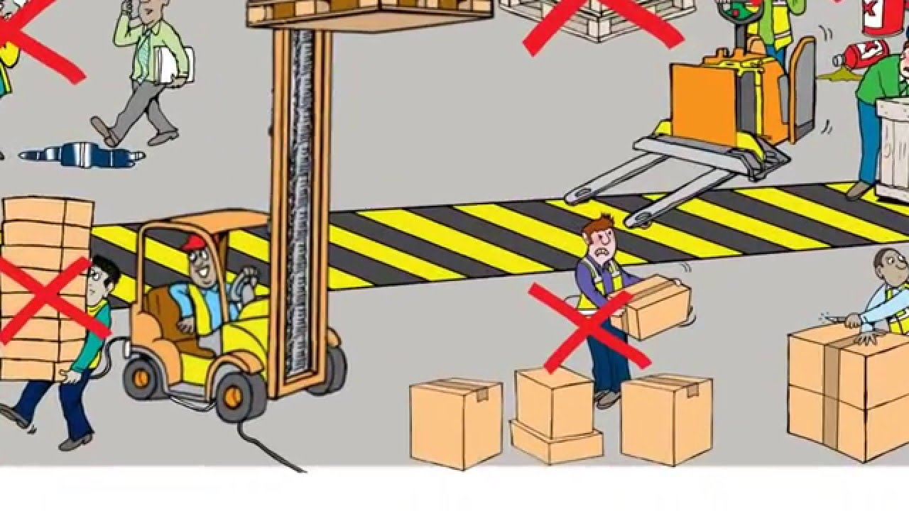 Warehouse clipart workplace safety Hazards Warehouse hazards YouTube and