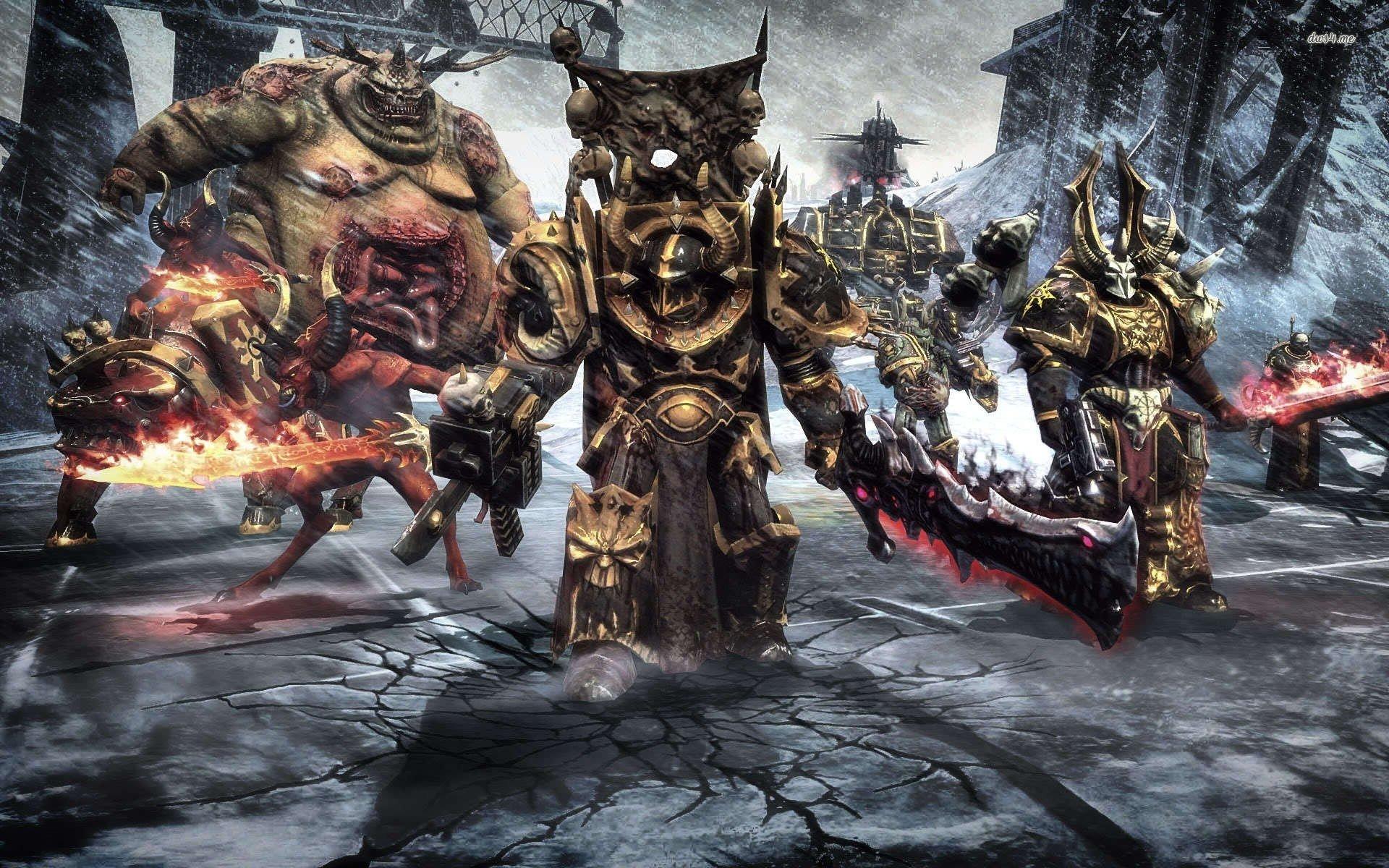 Warhammer clipart 1080p 40k Source: Chaos Warhammer Images: