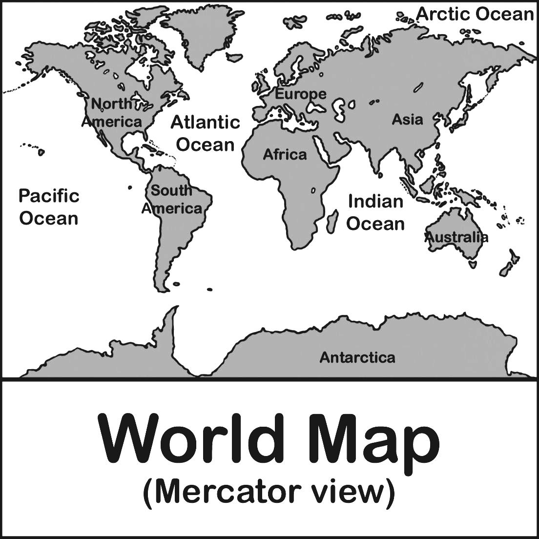 Warhammer clipart black Label Continents Manormap B And