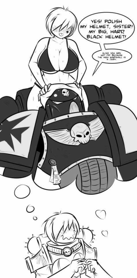 Warhammer clipart black Meme Oh helmet dat baby