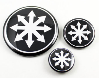 Warhammer clipart chaos symbol To White Star of Eternal