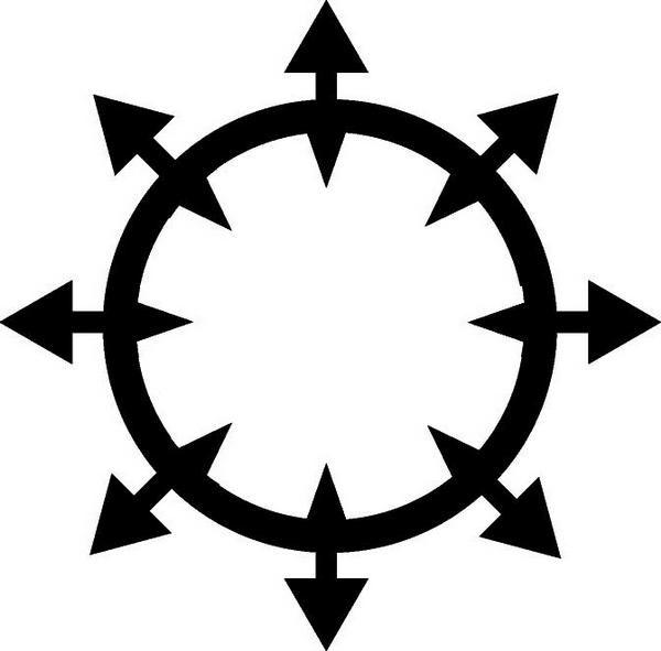 Warhammer clipart chaos symbol Chaos KrazedKei kun DeviantArt chaossymbol