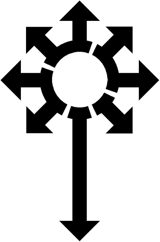 Warhammer clipart chaos symbol By chaossymbol 63 on corrupt
