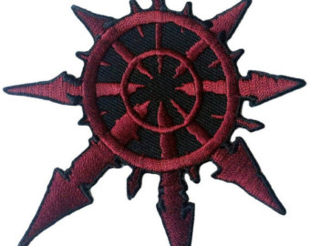 Warhammer clipart chaos symbol 40 5 Chaos Etsy Patch