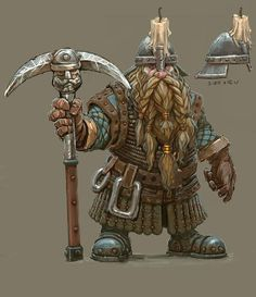 Warhammer clipart dwarven Characters: Serg miner Total Mercenary