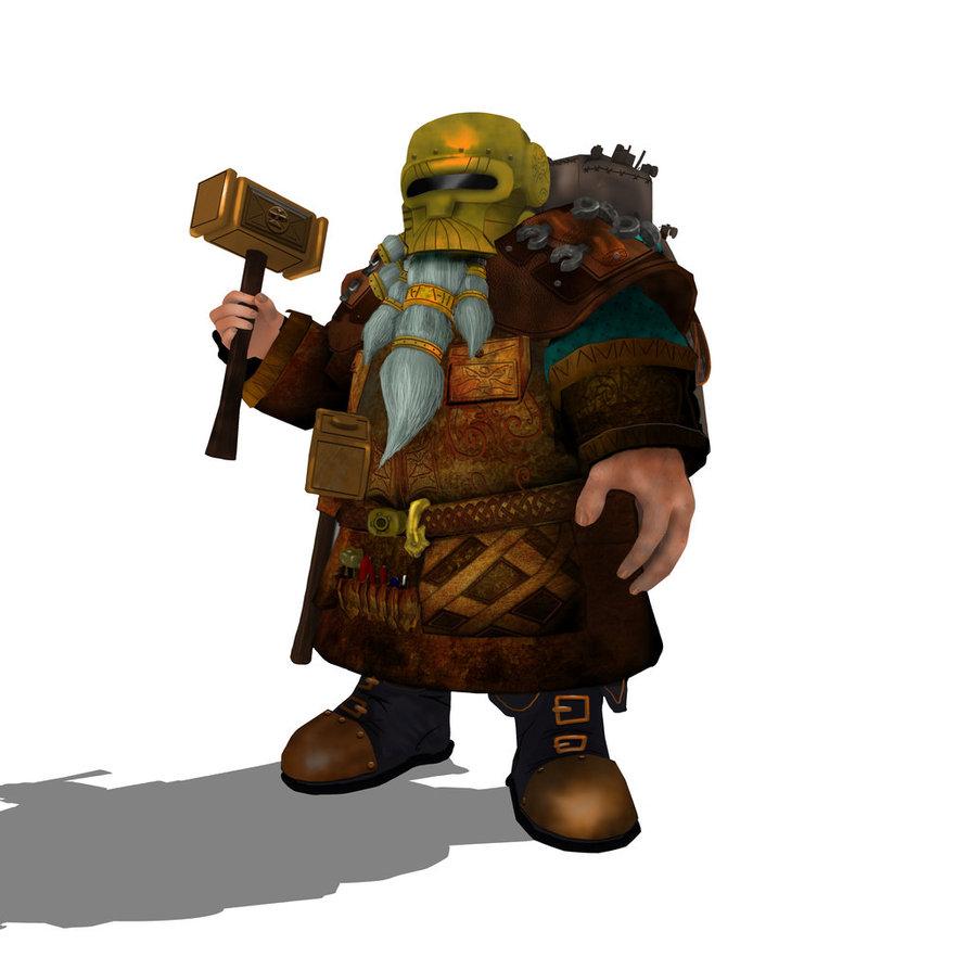 Warhammer clipart dwarven On DeviantArt Swyddles Engineer Warhammer