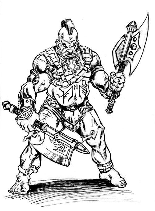 Warhammer clipart dwarven On DeviantArt stokesbook Slayer Warhammer: