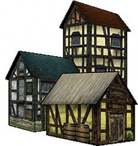Warhammer clipart medieval Gaming warhammer Medieval 283x300 Houses