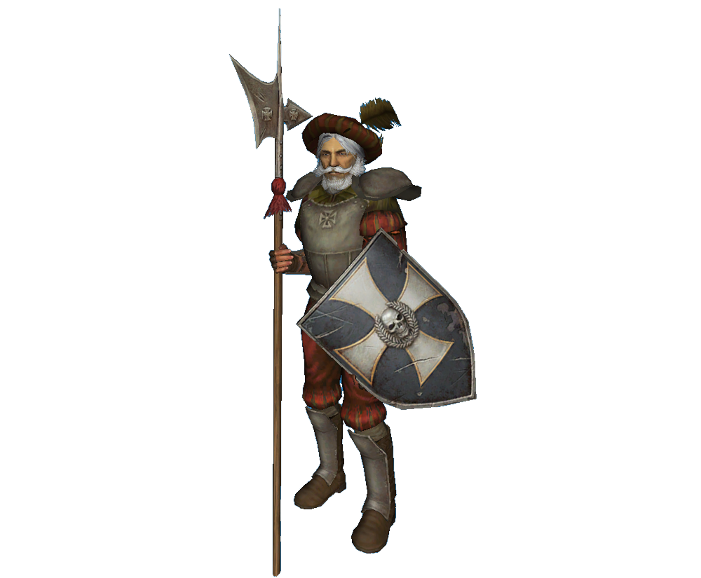 Warhammer clipart medieval Witch image Halberdier (view The