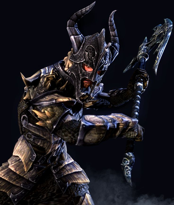 Warhammer clipart skyrim dragon Best human on Armor images