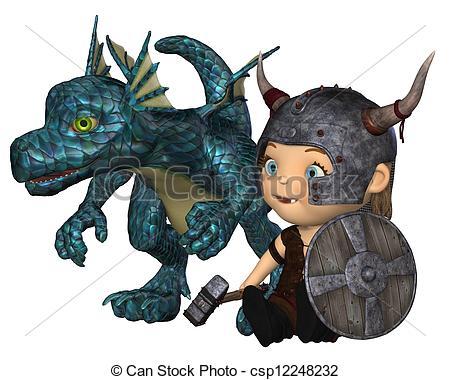 Warhammer clipart viking Baby illustration of helmet pet