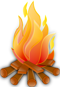 Warmth clipart red flame 7 Art clip  Fire