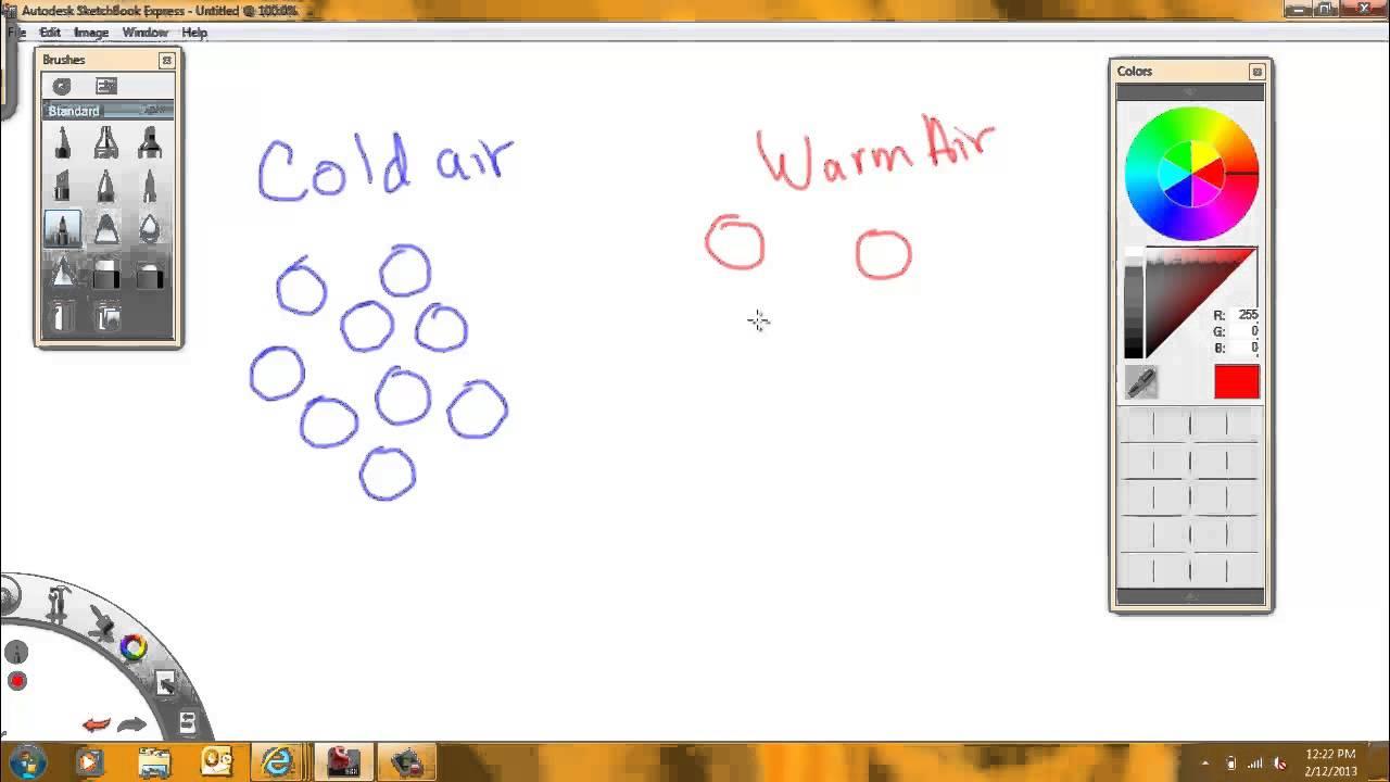 Warmth clipart cold air YouTube air cold warm air