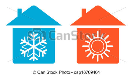 Warmth clipart cold air And Vector cold set home