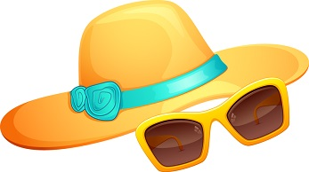 Warmth clipart hot weather Beach Weather Warm and glasses
