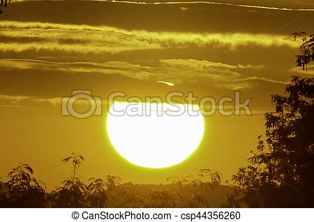 Warmth clipart morning sun  rise Stock Sun Image