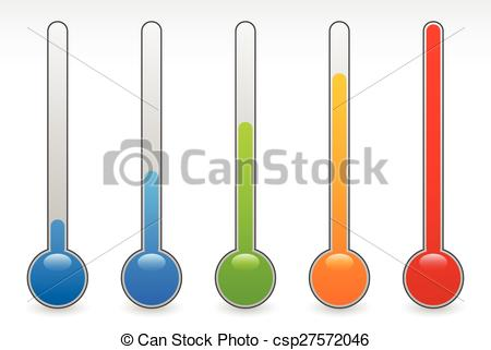 Warmth clipart temperature Temperature EPS concepts rising Vector