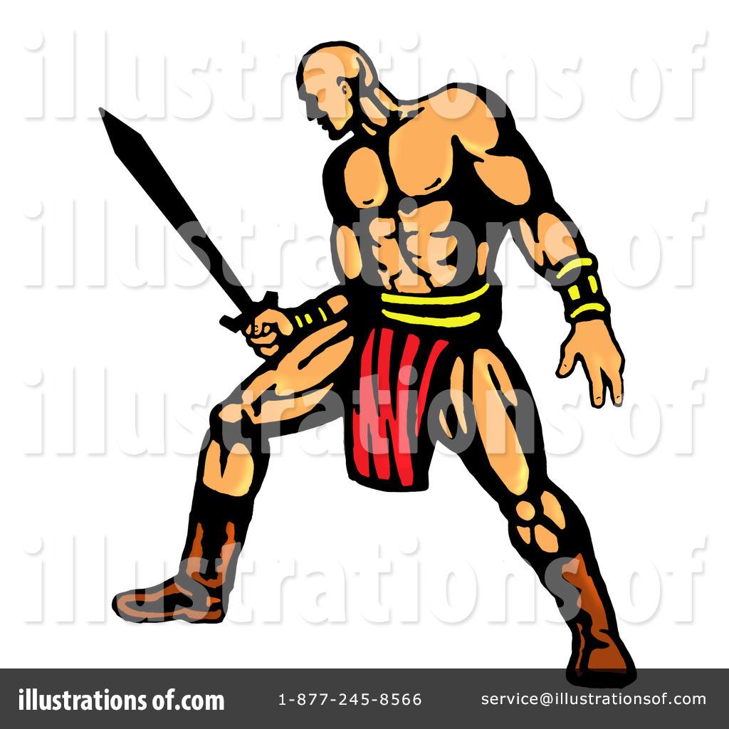Warrior clipart Patrimonio Illustration Illustration by patrimonio